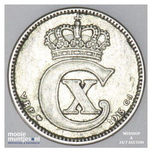 25 ore - Denmark 1915 (h) VBP; GJ (KM 815.1) (kant A)