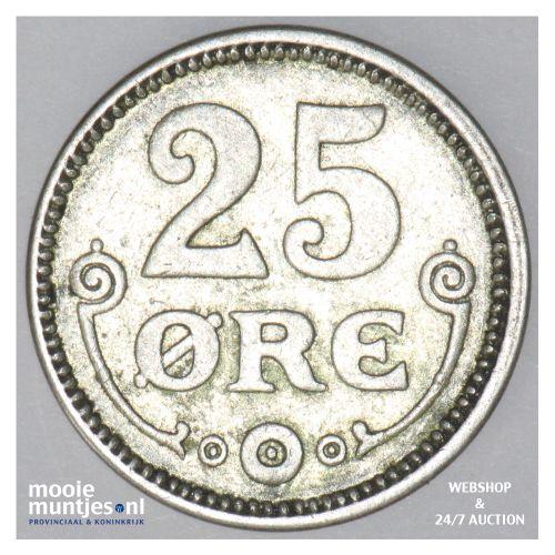 25 ore - Denmark 1915 (h) VBP; GJ (KM 815.1) (kant B)