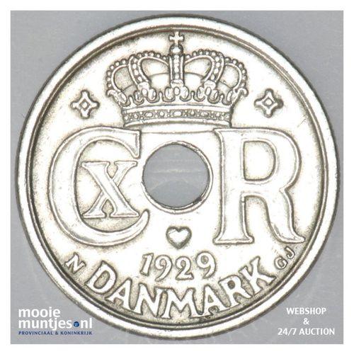 25 ore - Denmark 1921 (h) N; GJ (KM 823.2) (kant A)