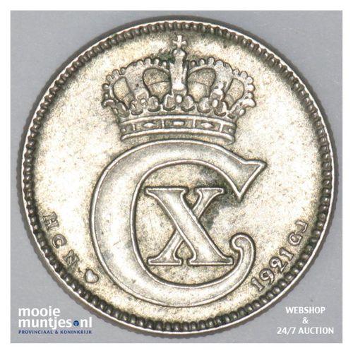 25 ore - Denmark 1921 (h) HCN; GJ (KM 815.2a) (kant A)