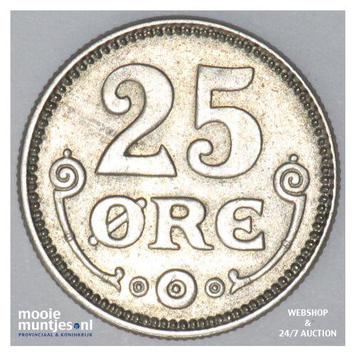 25 ore - Denmark 1921 (h) HCN; GJ (KM 815.2a) (kant B)