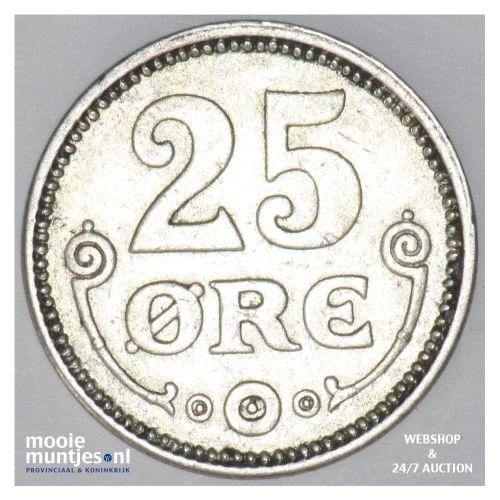 25 ore - Denmark 1918 (h) VBP; GJ (KM 815.1) (kant B)