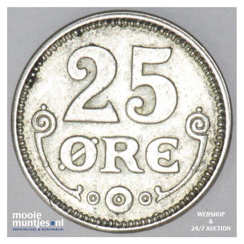 25 ore - Denmark 1917 (h) VBP; GJ (KM 815.1) (kant B)