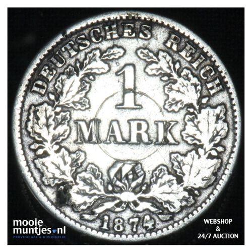 mark - Germany 1874 E (KM 7) (kant A)