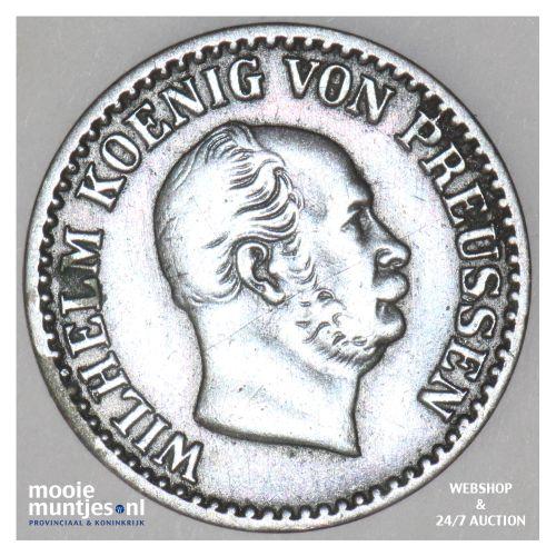 groschen - German States/Prussia 1863 A (KM 485) (kant B)