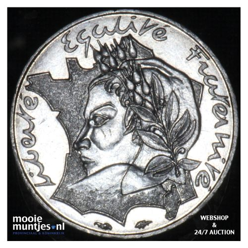 10 francs - France 1986 (KM 959) (kant B)