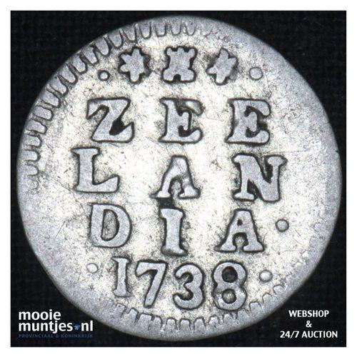 Zeeland - Pijl- of bezemstuiver - 1738 (kant A)