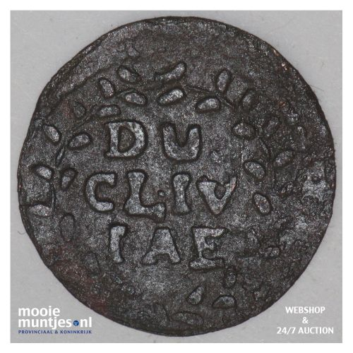 duit - German States/Cleves 1678 (KM 25.2) (kant B)