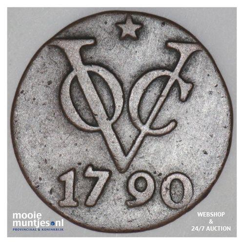 Nederlands-Indië - Duit - 1790 ster (kant A)