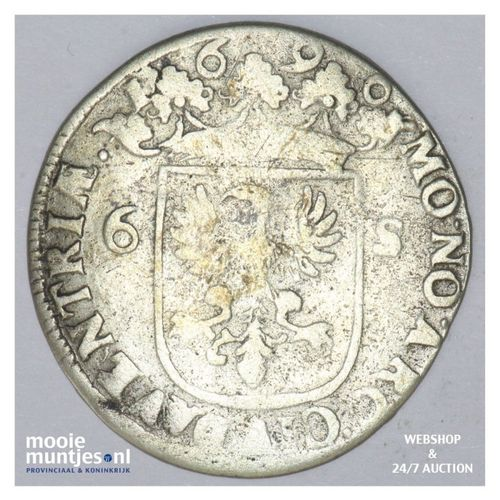 Deventer - Rijderschelling - 1690 (kant A)