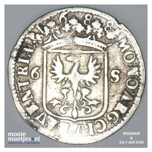 Deventer - Rijderschelling - 1688 (kant A)