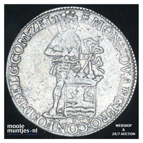 Zeeland - Zilveren dukaat - 1776 (kant B)