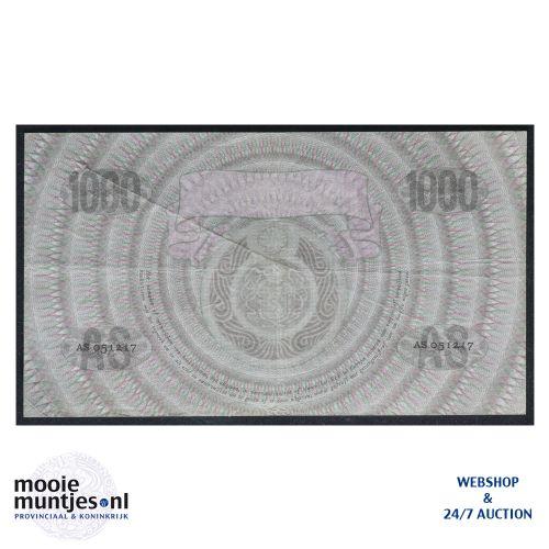 1000 gulden  - 1926 (Mev. 152-3 / AV 106A) (kant B)