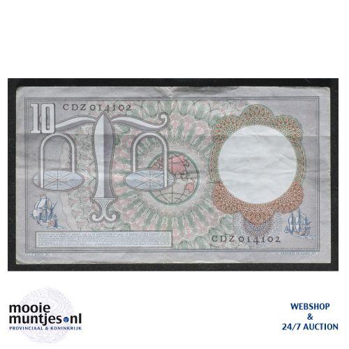 10 gulden  - 1953 (Mev. 48-1b / AV 36) (kant B)