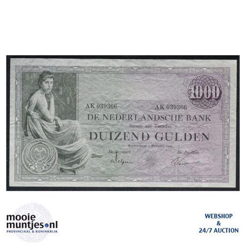 1000 gulden  - 1926 (Mev. 152-1 / AV 106A) (kant A)