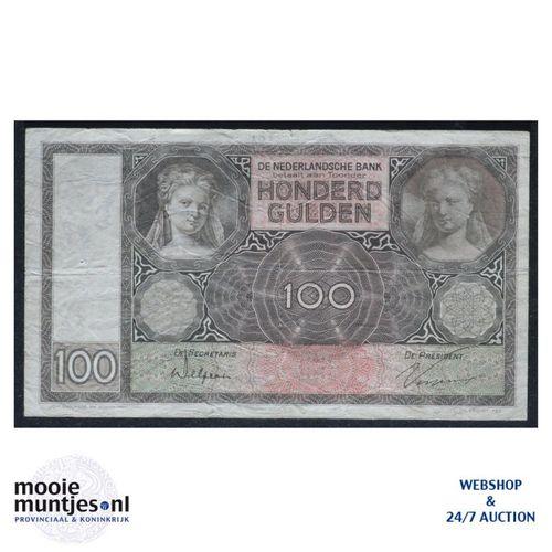 100 gulden - 1930 (Mev. 117-1 / AV 81) (kant A)