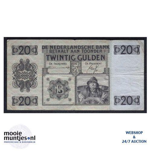 20 gulden - 1926 (Mev. 57-2 / AV 40) (kant A)
