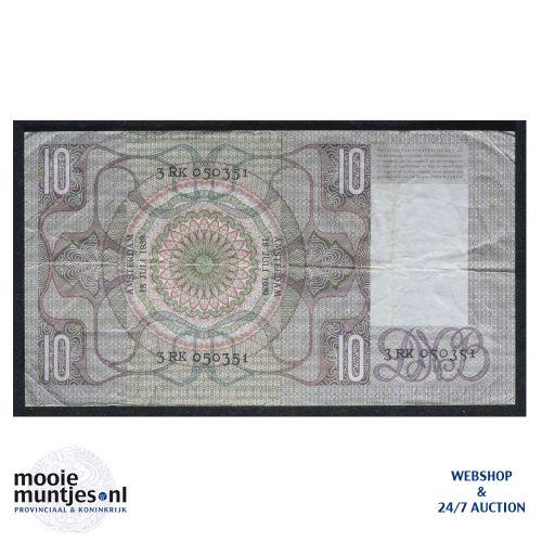 10 gulden  - 1933 (Mev. 40-1b / AV 29) (kant B)