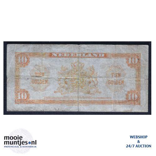 10 gulden  - 1943 (Mev. 44-1 / AV 33) (kant B)