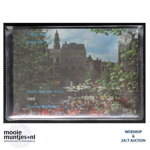 Jaarsets - Beatrix - 1988 Groningen (kant A)
