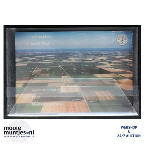 Jaarsets - Beatrix - 1989 Flevoland (kant A)