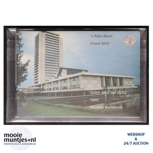 Jaarsets - Beatrix - 1990 Noord - Braband (kant A)