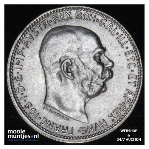 corona  - Austria 1915 (KM 2820) (kant B)