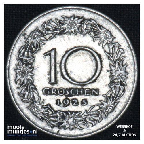 10 groschen - Austria  (KM 2838) (kant A)