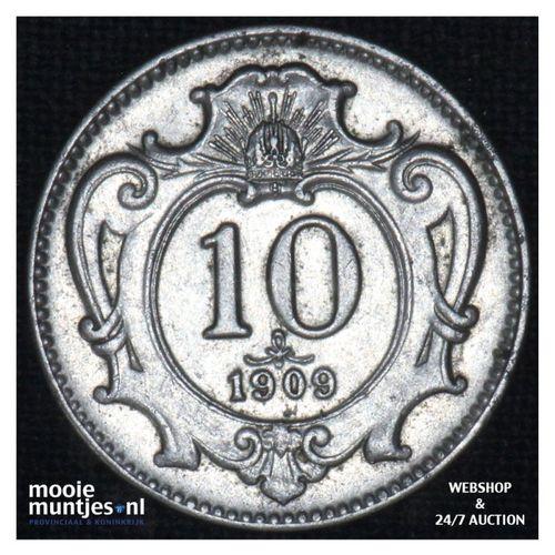 10 heller    - Austria  (KM 2802) (kant A)