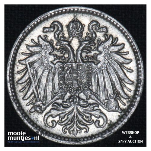 10 heller    - Austria  (KM 2802) (kant B)