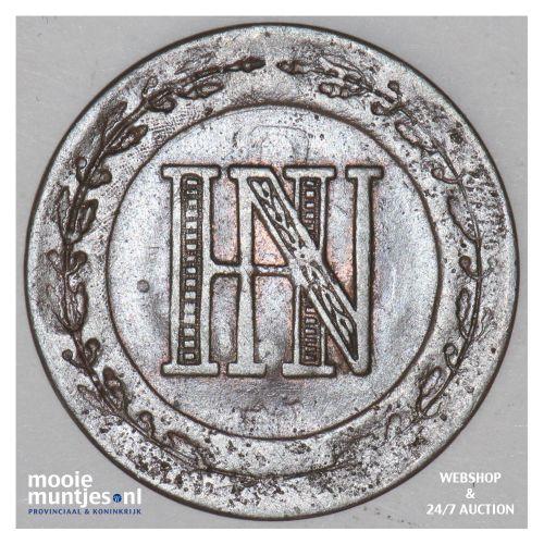 2 centimes - (french standard coinage) - German States/Westphalia 1810 (KM 90) (