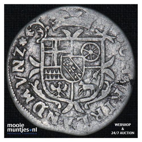 3 petermenger (3 albus) - German States/Trier 1711 GG (KM 201) (kant B)