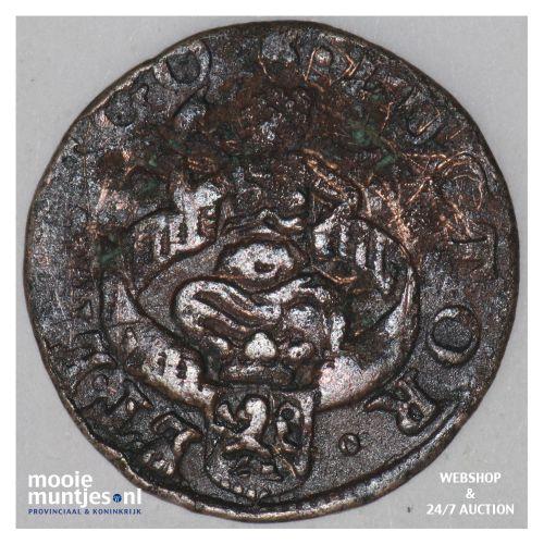 Zeeland - Duit - 1684 (kant B)