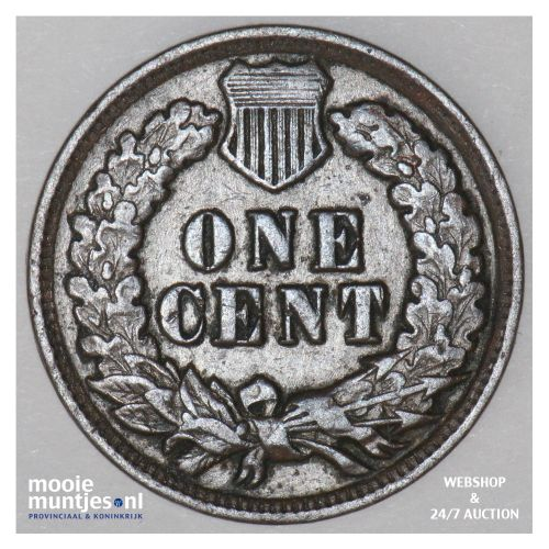 - United States of America/Cent 1902 (KM 90a) (kant B)