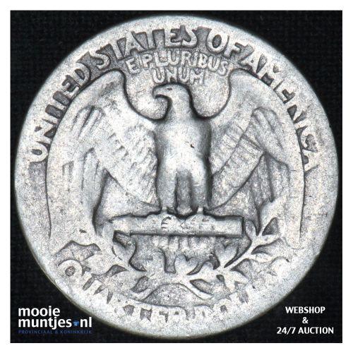 quarter - Washington - - United States of America 1941 (KM 164) (kant B)