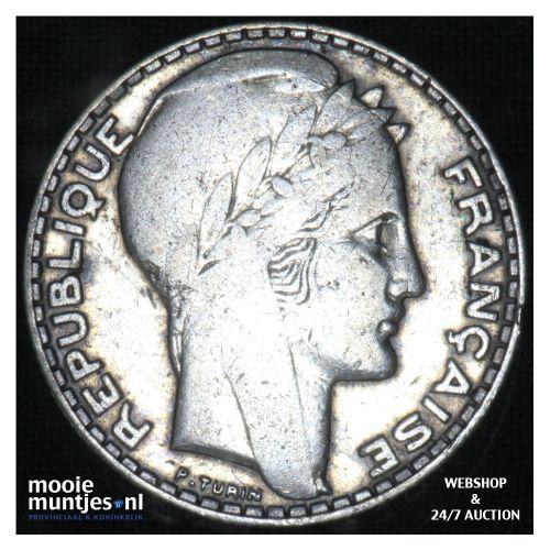 10 francs - France 1932 (KM 878) (kant B)