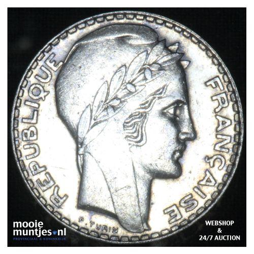 10 francs - France 1939 (KM 878) (kant B)