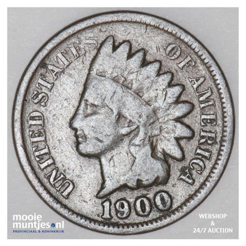 cent - indian head -  - United States of America/Circulation coinage 1900 (KM 90