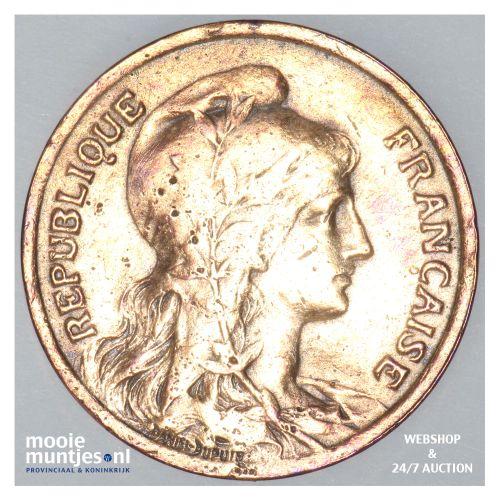 10 centimes - France 1921 (KM 843) (kant B)