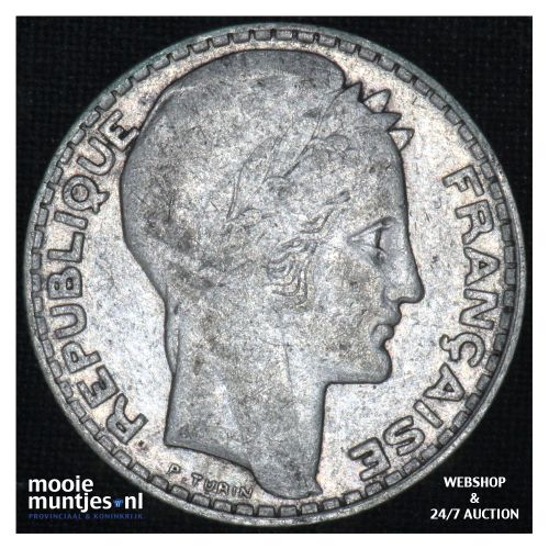 10 francs - France 1931 (KM 878) (kant B)