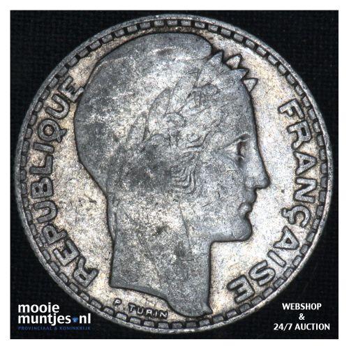 10 francs - France 1933 (KM 878) (kant B)