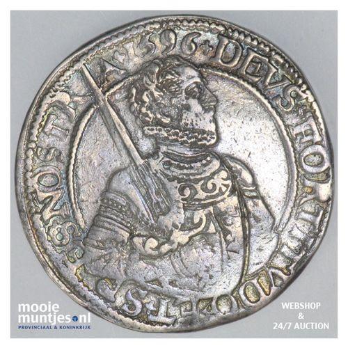 West-Friesland - Gehelmde rijksdaalder of Prinsendaalder - 1596 (kant A)