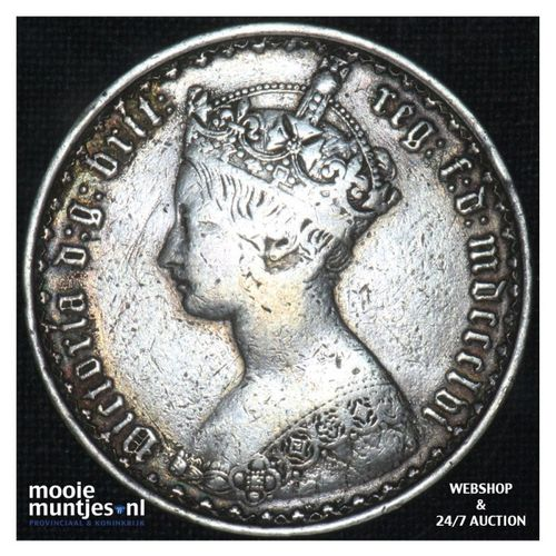 florin (two shillings) - Great Britain 1866 (MDCCCLXVI) (KM 746.3) (kant A)