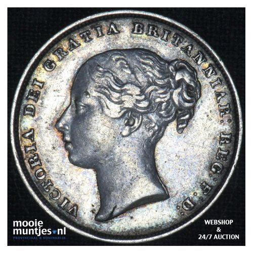 shilling - Great Britain 1849 (KM 743.1) (kant B)