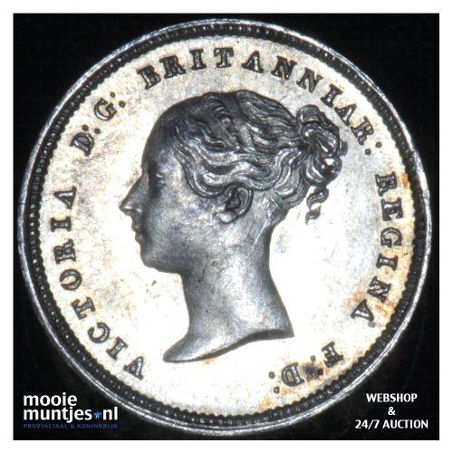 4 pence (groat) - Great Britain 1855 prooflike (KM 732) (kant B)