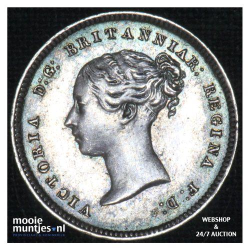 4 pence (groat) - Great Britain 1868 prooflike (KM 732) (kant B)