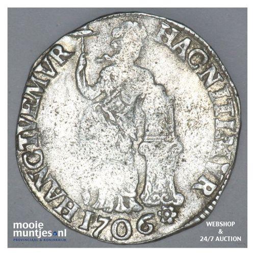 Overijssel - Gulden - 1706 (kant A)
