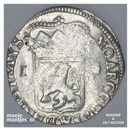 Overijssel - Gulden - 1706 (kant B)