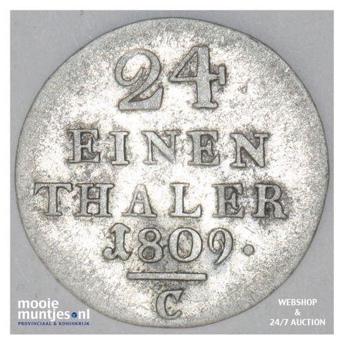 1/24 thaler - German States/Westphalia 1809 (KM 80) (kant A)