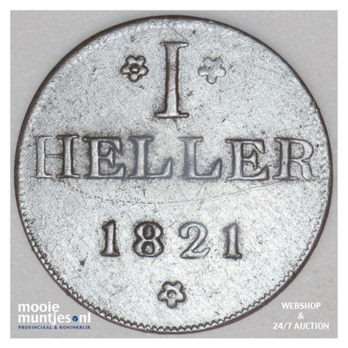 heller - token coinage - German States/Frankfurt am Main 1821 (KM Tn12) (kant A)
